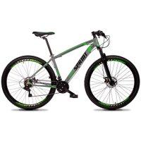 Bicicleta Volcon Aro 29 Quadro 19 Alumínio 21v Câmbio Tras. Shimano Freio Mecânico Cinza - GT Sprint