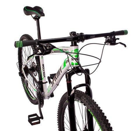 Bicicleta Volcon Aro 29 Quadro 21 Alumínio 21v Câmbio Tras Shimano Freio Mecânico Branco - GT Sprint
