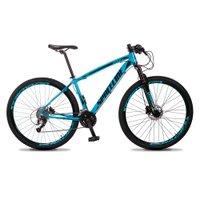 Bicicleta MTB Vega Aro 29 Quadro 21 Alumínio 27 Marchas Freio Hidráulico Azul - Spaceline