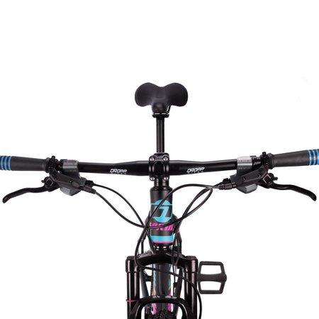 Bicicleta Volcon Aro 29 Quadro 17 Alumínio 27v Freio Hidráulico Preto Rosa Azul - GT Sprint