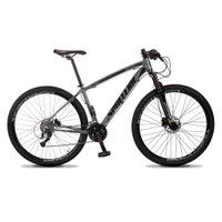 Bicicleta MTB Vega Aro 29 Quadro 21 Alumínio 27 Marchas Freio Hidráulico Cinza - Spaceline