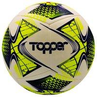 Bola Topper 22 Futsal Oficial Branco Amarelo Azul - Topper
