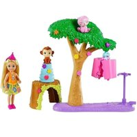 Barbie Chelsea Dream House Adventure Festa Na Selva - Mattel