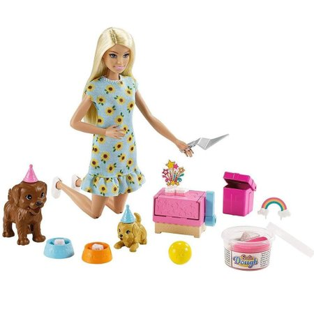 Barbie Sisters e Pets Festa do Filhote - Mattel