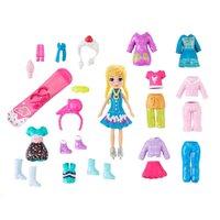 Polly Pocket Pacote de Modas Surpresas Sorvete - Mattel