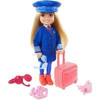 Barbie Mundo de Chelsea Can Be Pilota - Mattel