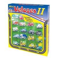 Carrinhos Mini Velozes II 18 Unidades - Braskit