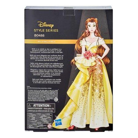 Disney Princess Style Series Premium Princesa Bela - Hasbro