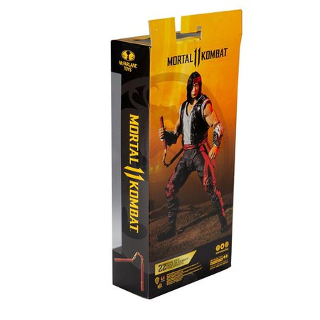 Figura Mortal Kombat McFarlane Liu Kang - Fun Divirta-se