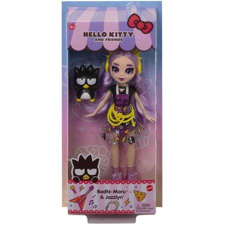 Hello Kitty Badtz Maru e Jazzlyn Friends - Mattel