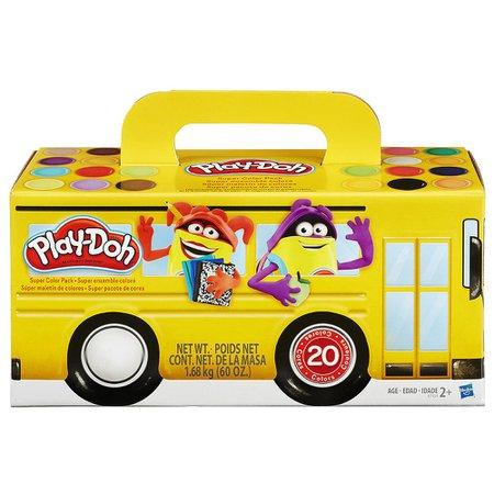 Play Doh Massa de Modelar com 20 Potes - Hasbro