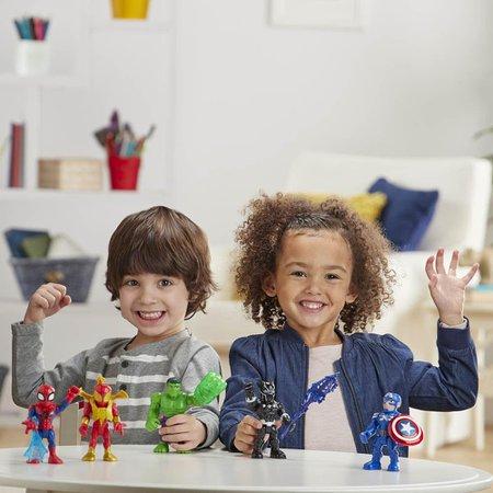 Marvel Super Hero Adventure Pantera Negra 12 Cm - Hasbro