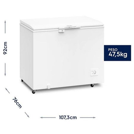 Freezer Horizontal Electrolux 1 Porta 314 Litros H330