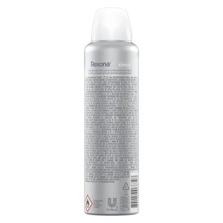 Desodorante Antitranspirante Rexona Clinical sem Perfume 150ml