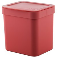 Lixeira De Pia Trium 4,7l Casa Lixeira de Cozinha Lixeira Vermelha Cesto de Lixo