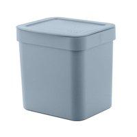 Lixeira para Pia de Cozinha de Plástico 4,7L Azul Glacial Ou