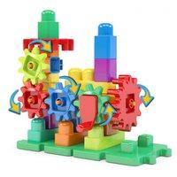 Blocos de Montar 35 peças Brinquedo Bloquinhos Imagiblocos Blocolândia Dismat