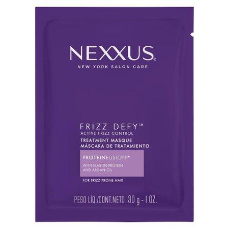 Máscara de Tratamento Nexxus Frizz Defy Active Frizz Control com Elastina e Óleo de Argan 30g