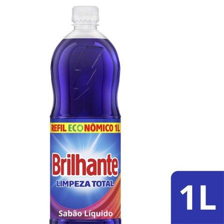 Refil Lava-Roupas Líquido Brilhante Brilho Ativo 1l