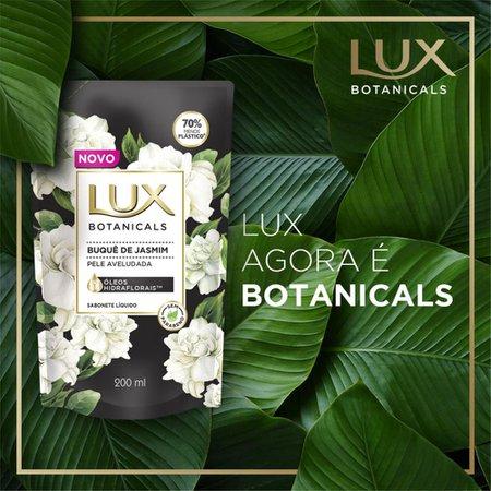 Refil Sabonete Líquido Lux Buquê de Jasmim Botanicals 200ml