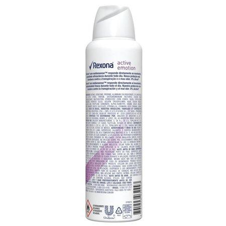 Desodorante Antitranspirante Aerosol Feminino Rexona Active Emotion 72 horas 150ml