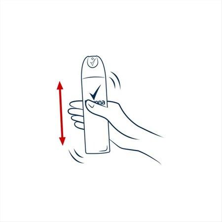 Desodorante Antitranspirante Aerosol Feminino Rexona Invisible 72 horas 150ml