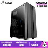 Computador Mancer, Intel Pentium G4400, Cooler Mancer, H110M, 8GB DDR4, SSD 512GB, TGT 500W, Archer