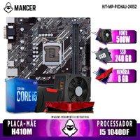 Kit Upgrade PLUS, Intel i5-10400F + H410M + 8GB DDR4 + SSD 240GB + 500W
