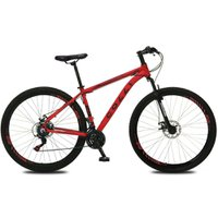 Bicicleta Colli Aro 29 Câmbio Shimano 21 Marchas Atlanta 532 - Vermelho Fosco
