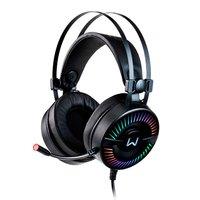 Headset Gamer Multilaser Warrior Flamma RGB, PH306