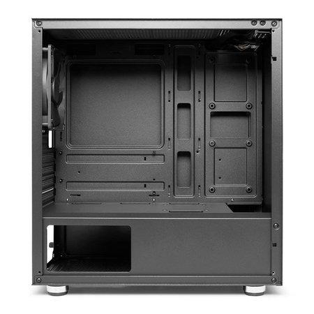 Gabinete Gamer Pichau HX300 Glass Preto, PG-HX3-G01