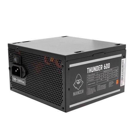 Kit Gabinete Pichau Archangel X RGB + Fonte Mancer Thunder 600W