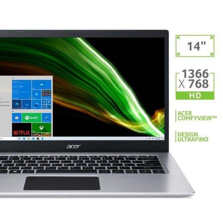 Notebook Acer A514-53G-51BK Ci5 8GB 256GB SSD 14' Win10