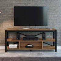 Rack Para Tv Sala Multifuncional Com 5 Prateleiras - Vermont