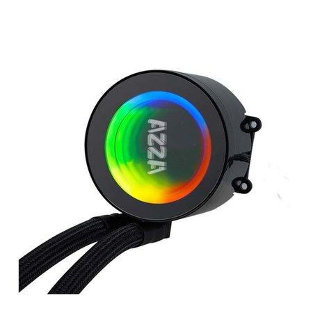 Water Cooler Azza Blizzard 240mm RGB, LCAZ-240R-ARGB