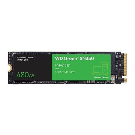SSD 480GB WD Green SN350 M.2 2280 NVMe, WDS480G2G0C