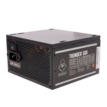 Kit Gabinete Mancer Kevlar, Fonte Mancer Thunder 500W