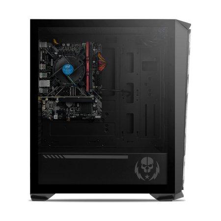 PC Computador Intel i5-10400F, H410M, R5 220 2GB, 8GB, SSD 120GB, 400W, Gadit X RTB