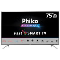 "Smart TV Philco 75"" PTV75E30ST 4K LED - Netflix"
