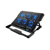 Cooler Para Notebook Com 6 Fans Led Cooler - Ac282