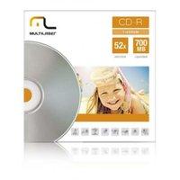 Mídia Cd-R Velocidade 52X Unitário Envelope Multilaser CD006