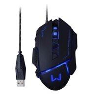 Mouse Gamer 3200 Dpi Warrior Usb Preto - Mo261