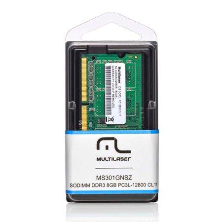 Módulo De Memória Multilaser Sodimm Ddr3 4gb 12800 - Mm420