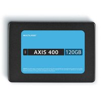 Ssd Multilaser 2,5 120Gb Axis 400 - Gravação 400 Mb/S - SS101