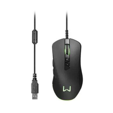 Mouse Gamer Rgb 10000DPI Personalizável Led Warrior Moray