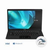 Notebook Ultra, Intel Pentium, 4GB RAM, 500GB HDD, Windows 10 Home, 14,1 Pol. HD, Preto - UB322