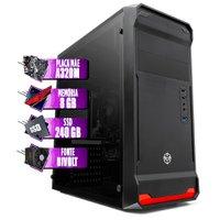 PC Computador AMD A6-9500E, A320M, 8GB DDR4, SSD 240GB