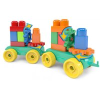 Blocos de Montar 26 peças Brinquedo Bloquinhos Imagiblocos III Blocolândia Dismat