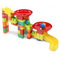 Blocos de Montar Brinquedo Educativo 52 peças Super Circuito Blocolândia Dismat