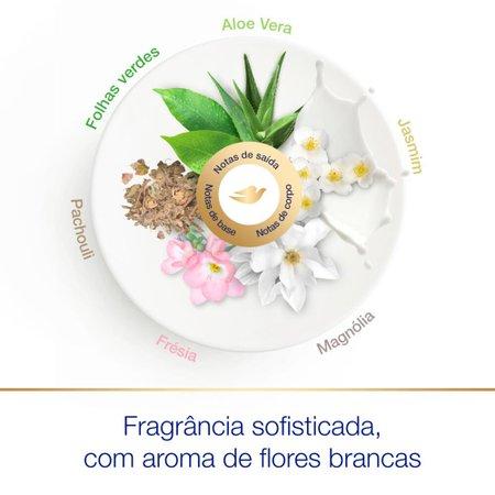 Desodorante Antitranspirante Aerossol Magnólia e Jasmim Dove Beauty Finish 150ml